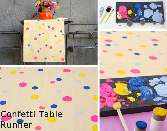 Confetti Table Runner