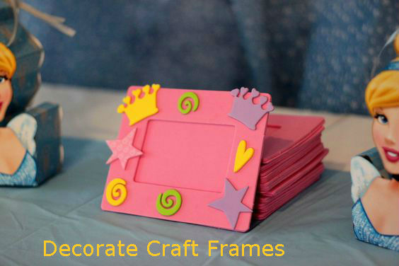 Decorate Craft Frames
