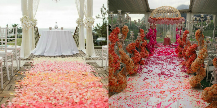 Design Your Aisle with Flowers