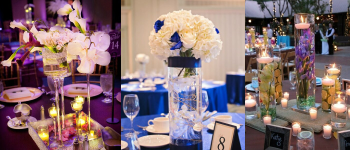 Flower Centerpieces for Wedding Table