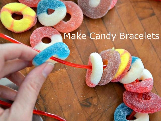 Make Candy Bracelets