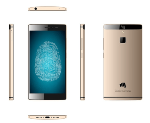 Micromax Canvas 6 Gold
