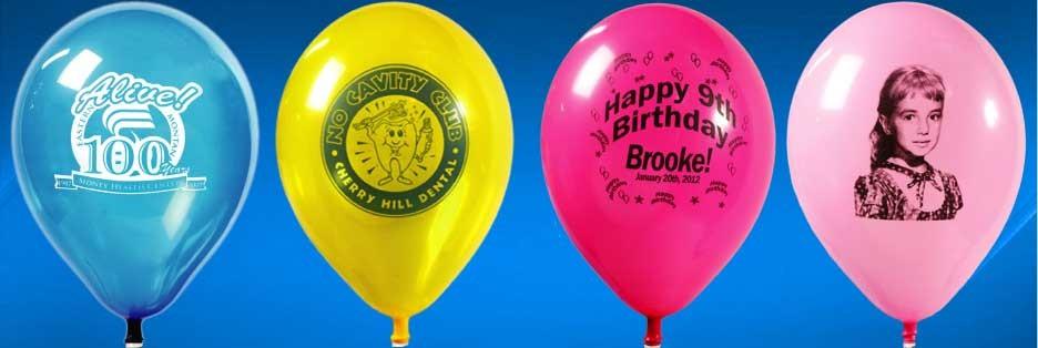 Name Printed Balloons