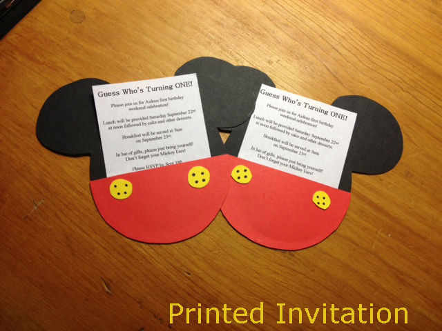 6 clever diy ideas for kid's birthday party - meetrv, Birthday invitations