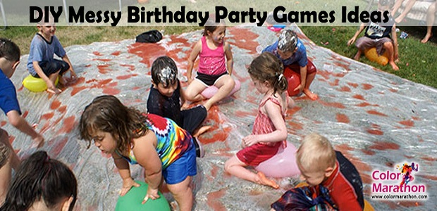 12 Messy and Cheery Birthday Party Games for Kids