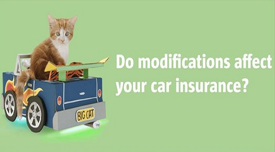 Know Modification Effects on Car Insurance