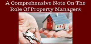 Role of Property Managers