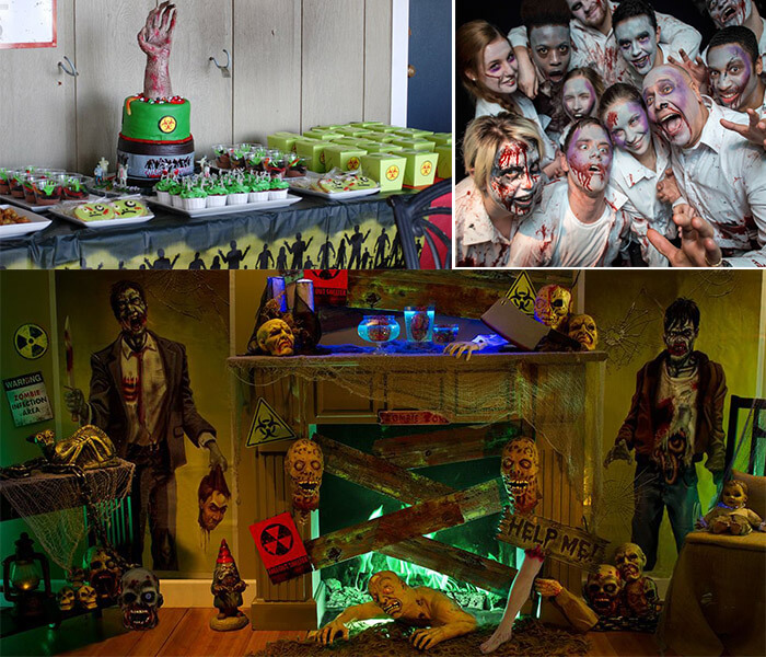 Zombie-land-theme-party