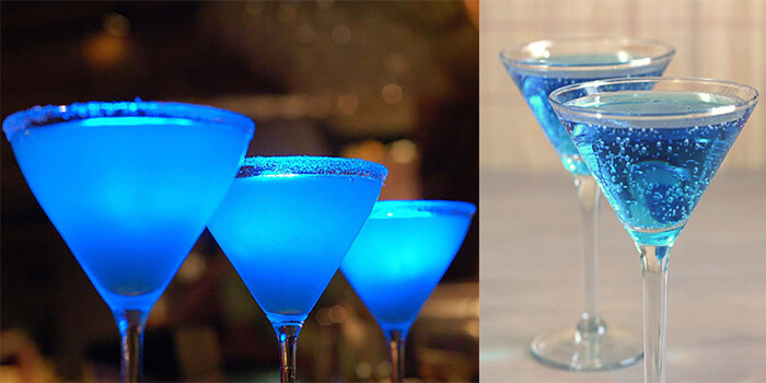 Deft Blue Cocktail