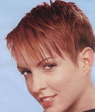 short fringes hairstyles
