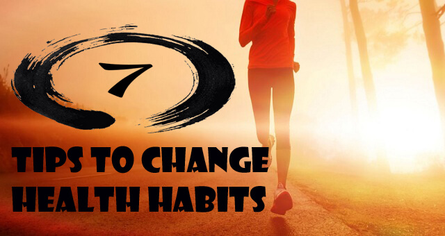 change healthy habits