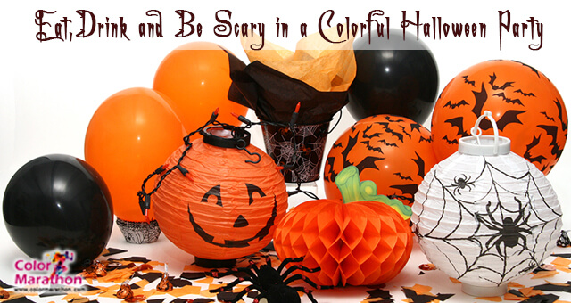 Color of Fun in Your Halloween Party