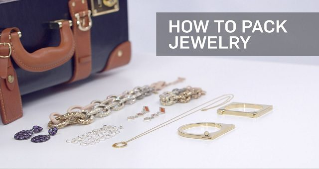 how to pack jewelry