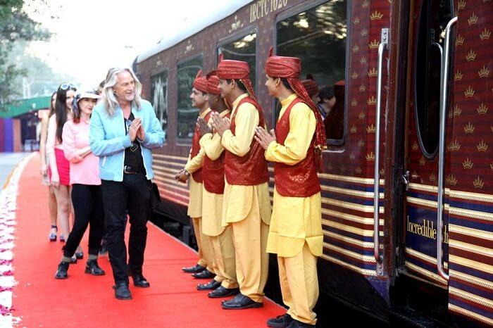 mahraja express train