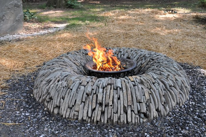 feed a fire pit