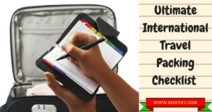 Ultimate International Travel Packing Checklist