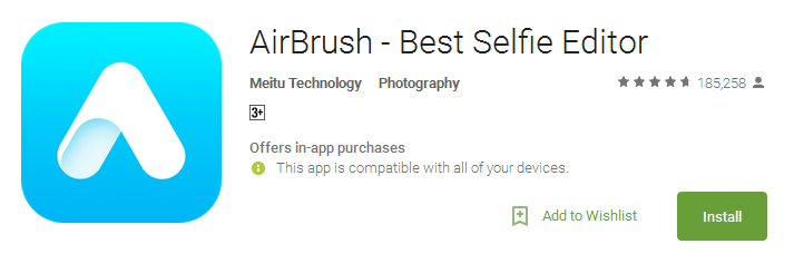 Airbrush Easy Photo Editor