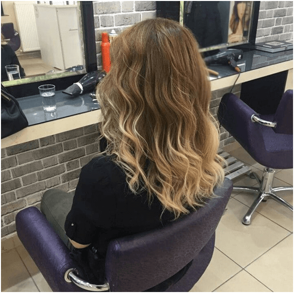 Natural Ombre Hairstyle