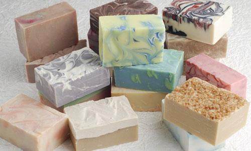homemade soap