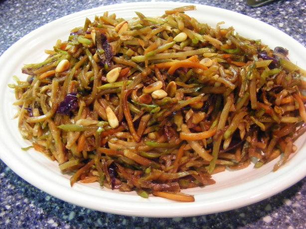 Broccoli Slaw Stir-Fry