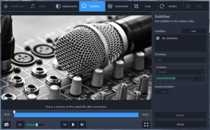 Converting Music with the Help of Movavi Video Converter
