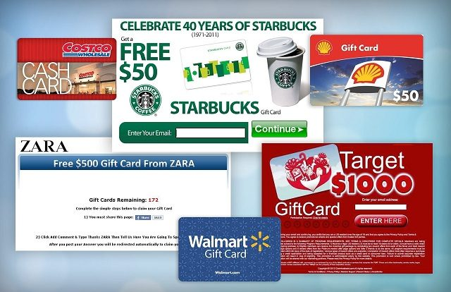 How to Generate Free Gift Cards