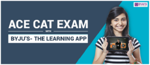 Ace CAT Exam with Byju