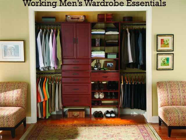 7 Wardrobe Essentials Every Working Man Should Have   MeetRV