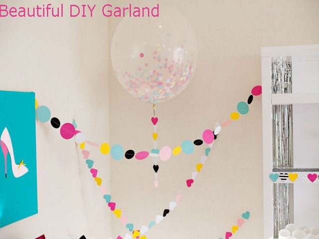 Beautifulb DIY Garland For Party