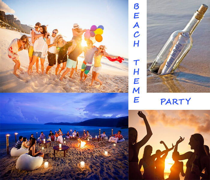 beach theme party guest post 15 thrilled theme for 18th birthday punch 12497