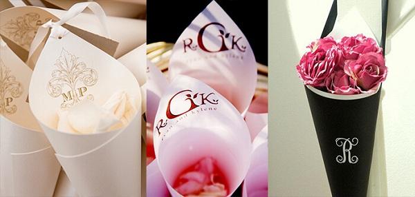 Ceremony-petals-cones