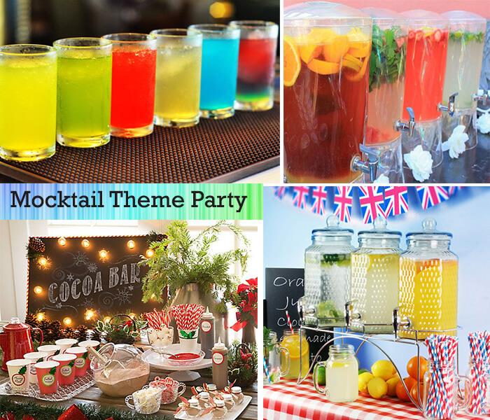 Mocktail-theme-party