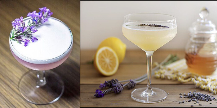 Lavender bees knees Cocktail