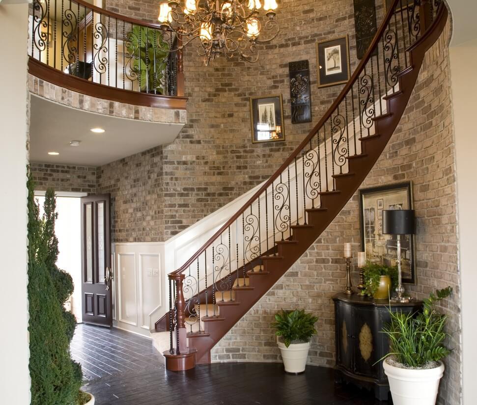 right balustrades