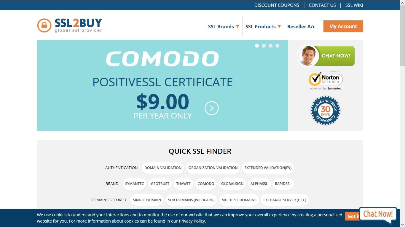 Cheap SSL Certificate Provider