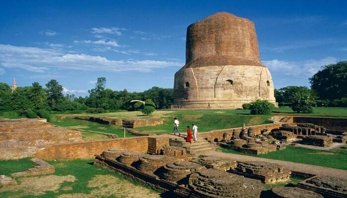 dhamek stupa varanasi