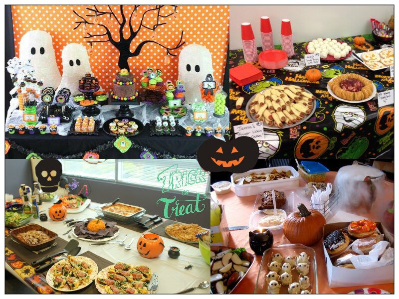 halloween pot luck