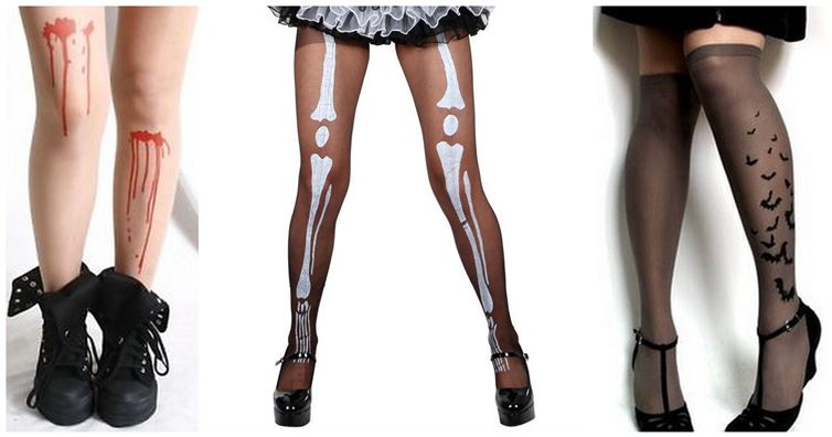 halloween tights