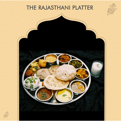 Rajasthani Platter