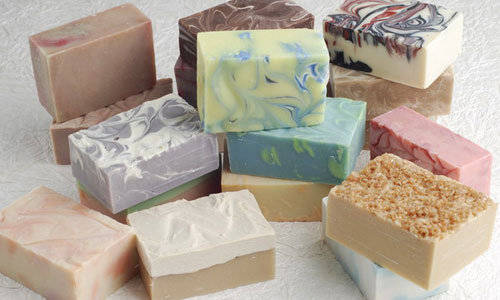 homemade soap