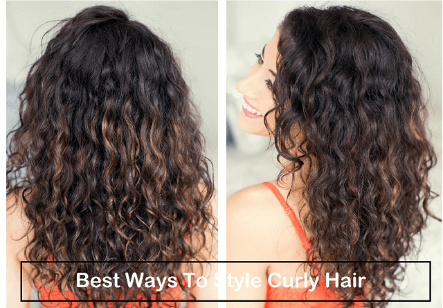 cute ways to style curly hair at home the best ways to style curly hair meetrv 2757 | best ways to style curly hair