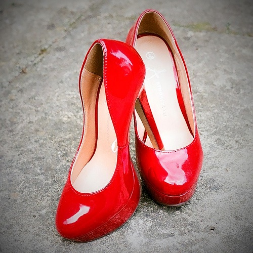 red-shoes