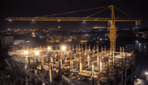 How LED Flood Lights Increase Productivity & Safety at Construction Sites