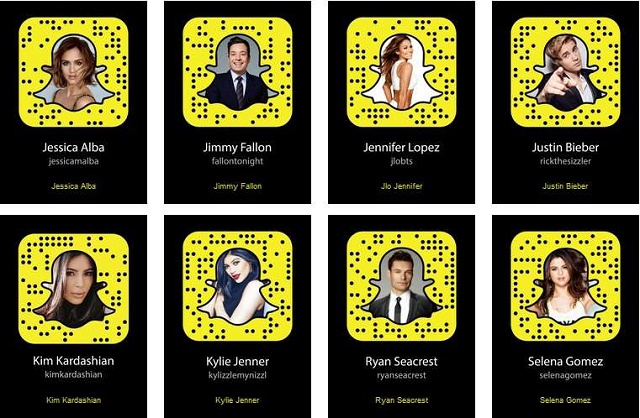 Top 3 Fashion Celebs that should be in your Snapchat Feed