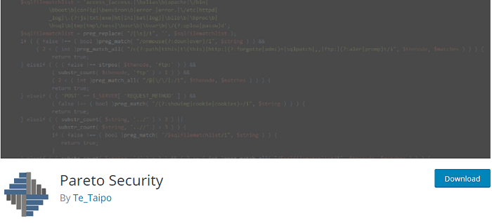 Pareto Security