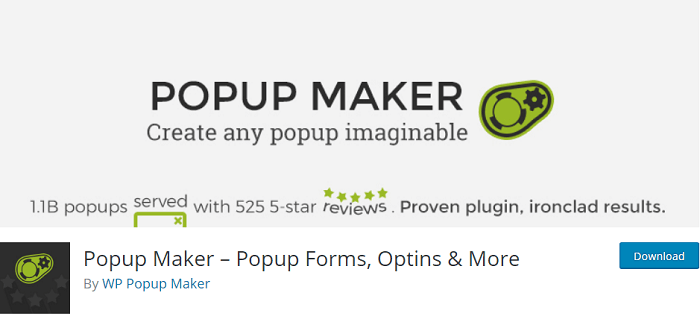 Popup Maker Popup Forms
