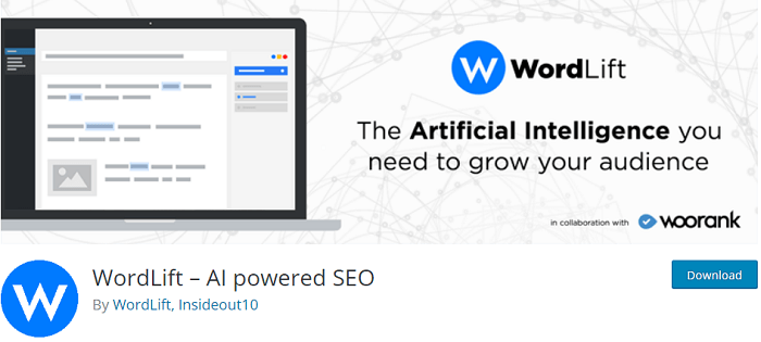 WordLift AI powered SEO