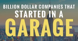 Incredible Companies That Started in a Garage