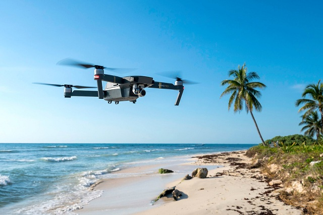 Travelling with a drone