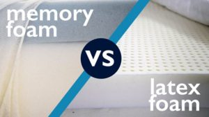 memory foam vs latex foam mattress
